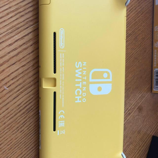 Nintendo Switch(ニンテンドースイッチ)の【スズキ様専用】Nintendo Switch Lite イエロー ケース付き エンタメ/ホビーのゲームソフト/ゲーム機本体(家庭用ゲーム機本体)の商品写真