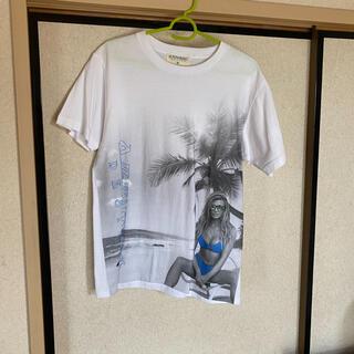 アヴァランチ(AVALANCHE)のAZZURRO DESIGN Tシャツ(Tシャツ/カットソー(半袖/袖なし))