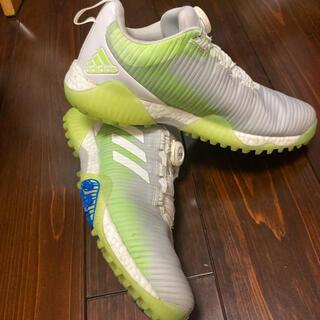 adidas - 早い者勝ち!adidas ゴルフシューズ コードカオス 26cm ホワイト
