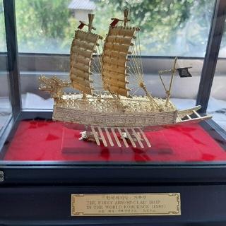 ミニチュア 朝鮮水軍 軍艦 亀甲船 亀船 文禄・慶長の役 模型