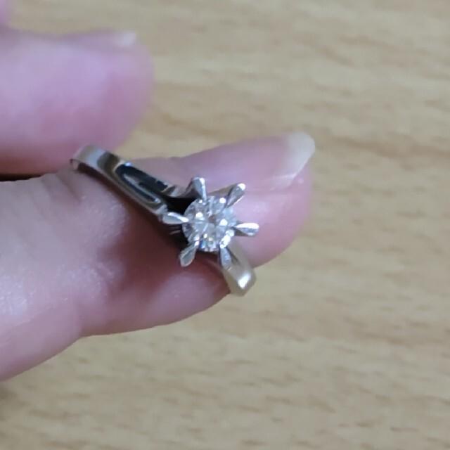 ダイヤモンド プラチナ リング レディースのアクセサリー(リング(指輪))の商品写真