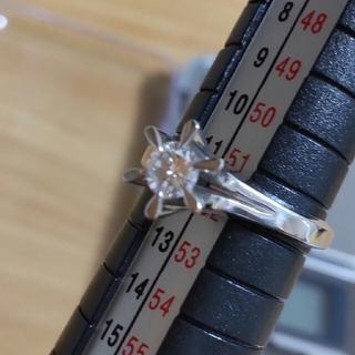 ダイヤモンド プラチナ リング