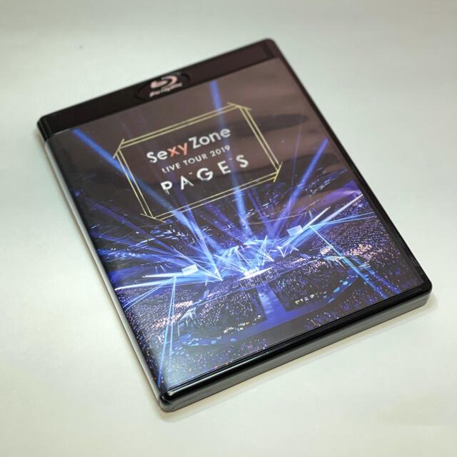 Sexy Zone(セクシー ゾーン)のSexy Zone LIVE TOUR 2019 PAGES(Blu-ray)  エンタメ/ホビーのDVD/ブルーレイ(ミュージック)の商品写真