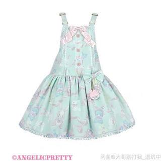 Angelic Pretty - ANGELIC PRETTY Moco moco Bunnys サロペット
