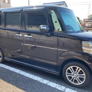 諸費用なし N-BOX+ 車検10月 全窓専用シェード付き 2オーナー