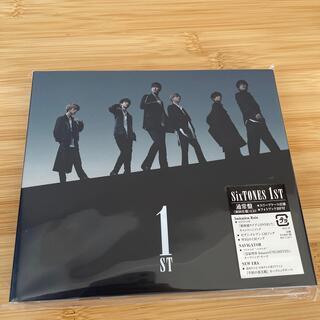 Johnny's - 【美品】1ST SixTONES 通常盤(初回仕様)