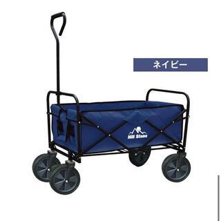 キャリーワゴン キャリーカート 折りたたみ コンパクト 耐荷重80kg シー