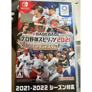 Nintendo Switch - 早期購入特典付きe BASEBALL プロ野球スピリッツ2021 グランドスラム