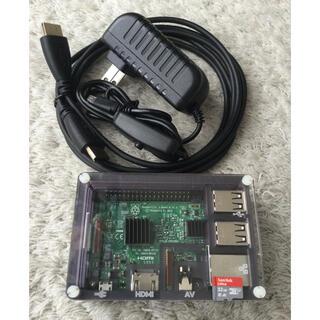 Raspberry Pi 3 Model B ラズパイ ケース電源HDMI、OS