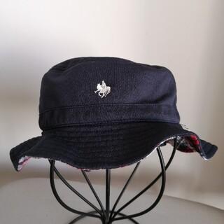 POLO baby日除け付き帽子/hat with sun gured