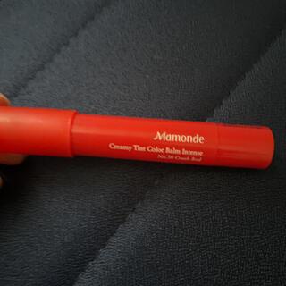 アモーレパシフィック(AMOREPACIFIC)のMamonde 30号 クラッシュレッド クリーミーティントカラーバーム(口紅)