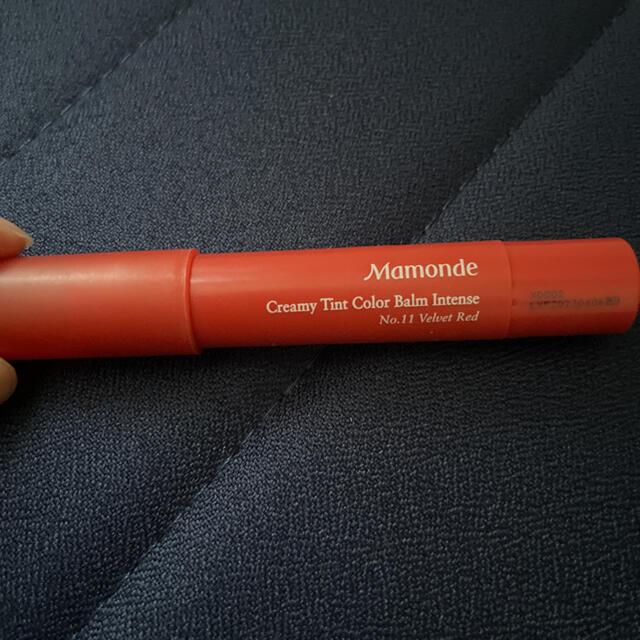 AMOREPACIFIC(アモーレパシフィック)のMamonde 11号 ベルベットレッド クリーミーティントカラーバーム コスメ/美容のベースメイク/化粧品(口紅)の商品写真