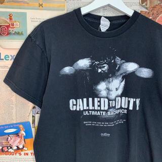デルタ(DELTA)の古着 DELTA / CALLED TO DUTY Tシャツ ムービーt 映画(Tシャツ/カットソー(半袖/袖なし))