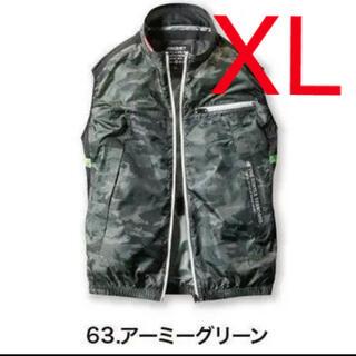 BURTLE - BURTLE バートル 空調服 ベスト XL  服のみ AC1034