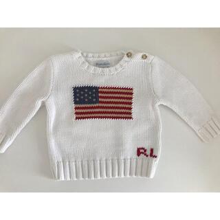 Ralph Lauren - ラルフローレン 国旗 星条旗 ニット