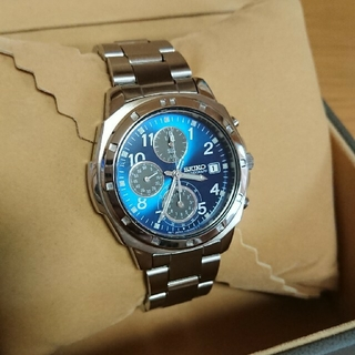 SEIKO - SEIKO クロノグラフ メンズ 腕時計 クォーツ