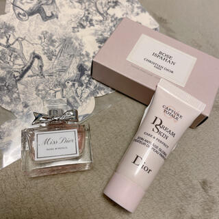 Dior - Miss Dior ローズ&ローズ ドリームスキン乳液 ローズイスパハン石鹸