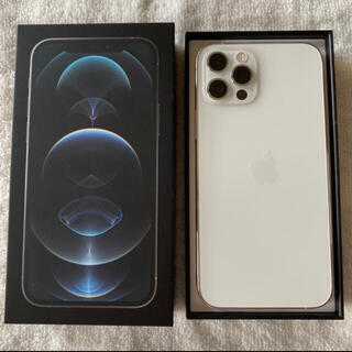Apple - iPhone12Pro 128GB シルバー  SIMフリー 極美品