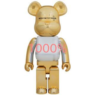 メディコムトイ(MEDICOM TOY)のBE@RBRICK PLUS GOLD CHROME Ver. 1000(その他)