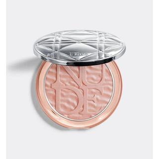 ディオール(Dior)のディオールスキンミネラルヌードルミナイザーパウダー 001ピンクデューン(フェイスパウダー)