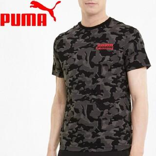 PUMA - [新品 未使用]PUMA カモフラTシャツ