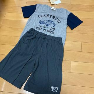 新品未使用 半袖パジャマ上下 夏用 男の子用 130cm(パジャマ)