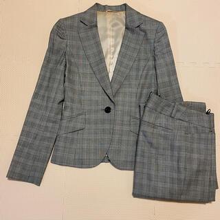 【可愛い♡グレンチェック】P.S.FA レディース 上下 パンツスーツ(スーツ)
