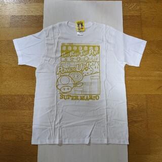 ニンテンドウ(任天堂)の【新品】スーパーマリオ Tシャツ ユニセックス M ホワイト(Tシャツ/カットソー(半袖/袖なし))