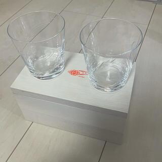 ビームス(BEAMS)の非売品 BEAMS CLUB 限定 オリジナル 切子 グラス 江戸切子 宇宙(グラス/カップ)