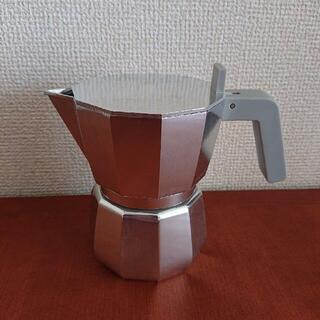 アレッシィ(ALESSI)のALESSI MOKA エスプレッソコーヒーメーカー 3CUP(エスプレッソマシン)