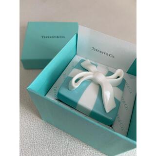 ティファニー(Tiffany & Co.)のティファニー小物入れ ブルー リボン 小物入れ ボックス Tiffany(小物入れ)