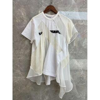 サカイ(sacai)の大人気 21SS sacai サカイ Tシャツ White(パーカー)