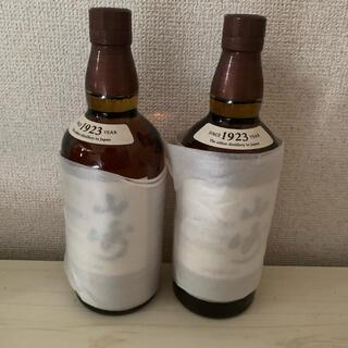 サントリー(サントリー)の山崎 シングルモルト ジャパニーズウイスキー 2本 新品未開封(ウイスキー)