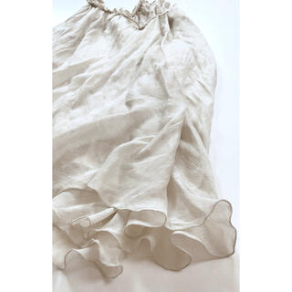 L'Appartement DEUXIEME CLASSE - MARLENE DAM シルク ロングスカート イタリア製