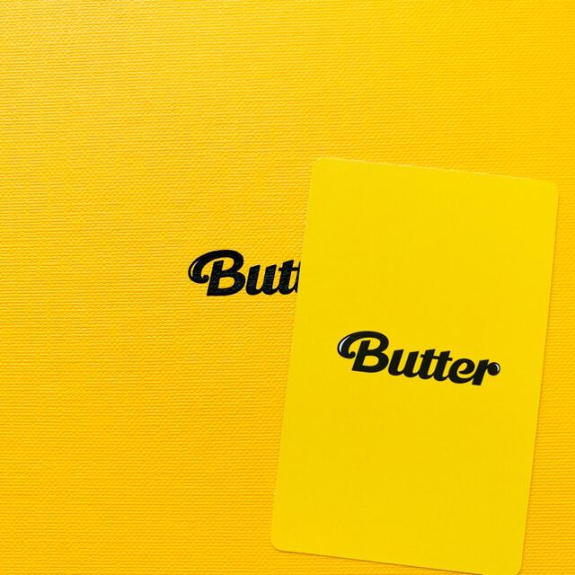 防弾少年団(BTS)(ボウダンショウネンダン)のBTS 防弾少年団 Butter ジミン JIMIN トレカ エンタメ/ホビーのCD(K-POP/アジア)の商品写真