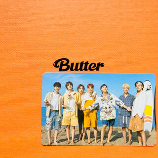 ボウダンショウネンダン(防弾少年団(BTS))のBTS 防弾少年団 Butter ALL 全員 テヒョン ジョングク トレカ(K-POP/アジア)
