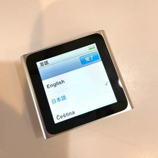 アイポッド(iPod)のiPod nano 6世代(ポータブルプレーヤー)