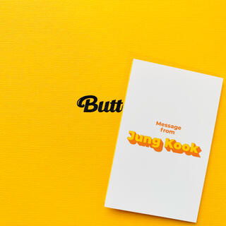 ボウダンショウネンダン(防弾少年団(BTS))のBTS 防弾少年団 Butter ジョングク グク トレカ メッセージカード(K-POP/アジア)