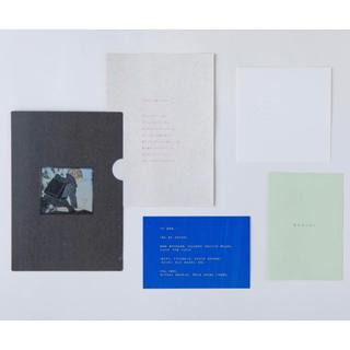 酒井駒子展「みみをすますように」 入場特典 紙製 厚紙ファイル など
