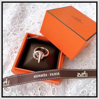 Hermes - 【エルメス】エシャペMM リング 指輪 シルバー