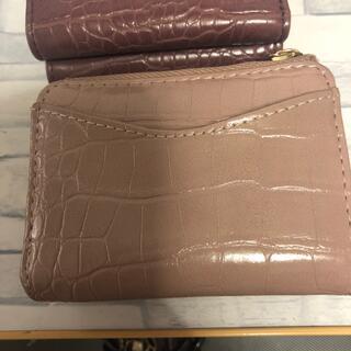 しまむら - プチプラのあや👛三つ折り財布①ピンク
