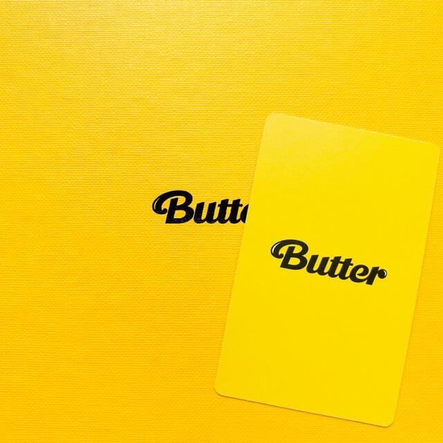 防弾少年団(BTS)(ボウダンショウネンダン)のBTS 防弾少年団 Butter テヒョン テテ V トレカ エンタメ/ホビーのCD(K-POP/アジア)の商品写真