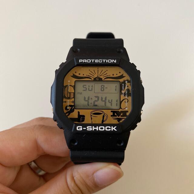 G-SHOCK(ジーショック)のジョージアとG-SHOCKのコラボ腕時計 メンズの時計(腕時計(デジタル))の商品写真