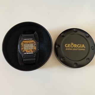 G-SHOCK - ジョージアとG-SHOCKのコラボ腕時計