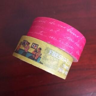 マークス(MARK'S Inc.)のマスキングテープ2本   niko and ...&マークス筆記体  中古(テープ/マスキングテープ)