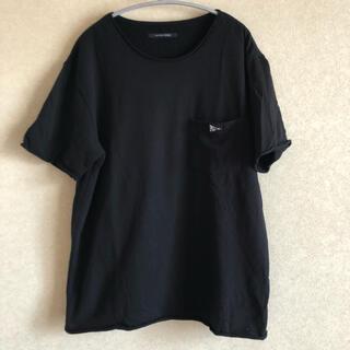 ドアーズ(DOORS / URBAN RESEARCH)のURBAN RESEARCH DOORS * 半袖カットソー ブラック(Tシャツ/カットソー(半袖/袖なし))