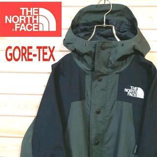 ノースフェイス GORE-TEX マウンテンジャケット パーカー アースカラー