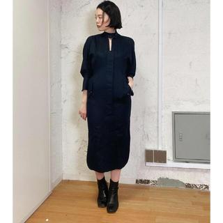 mame - mame kurogouchi 21PF ミリタリードレス サイズ2