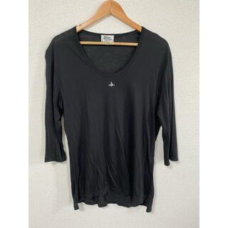 Vivienne Westwood - Vivienne Westwood MAN 胸刺繍 7部袖Tシャツ