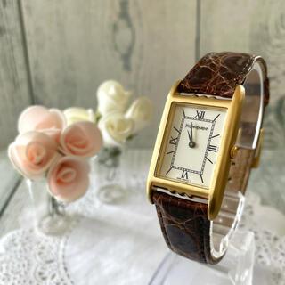 Saint Laurent - 【電池交換済み】Yves Saint Laurent 腕時計 スクエア ボーイズ